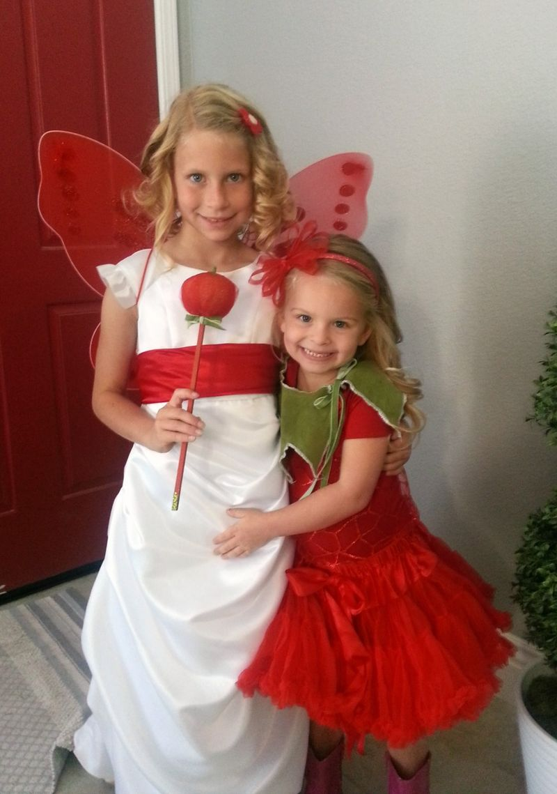 Carlee and Audrey Tomato 1
