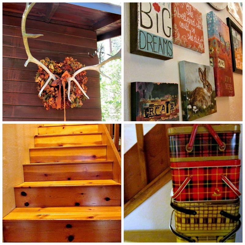 Cabin details Collage