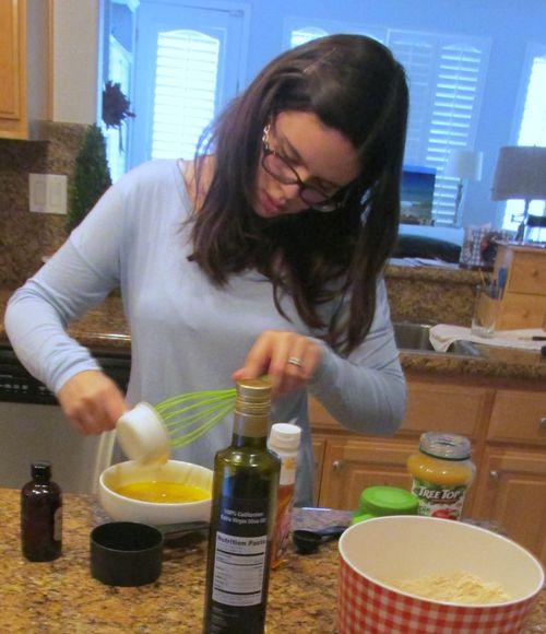 Jessica baking