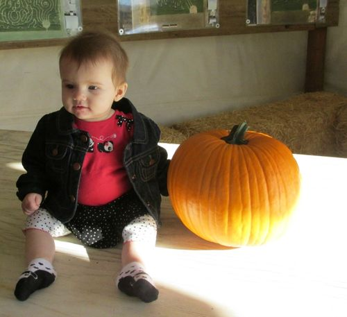 Alene first pumpkin
