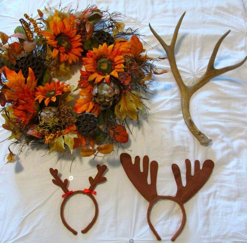 Enchanted fall gathering wreath
