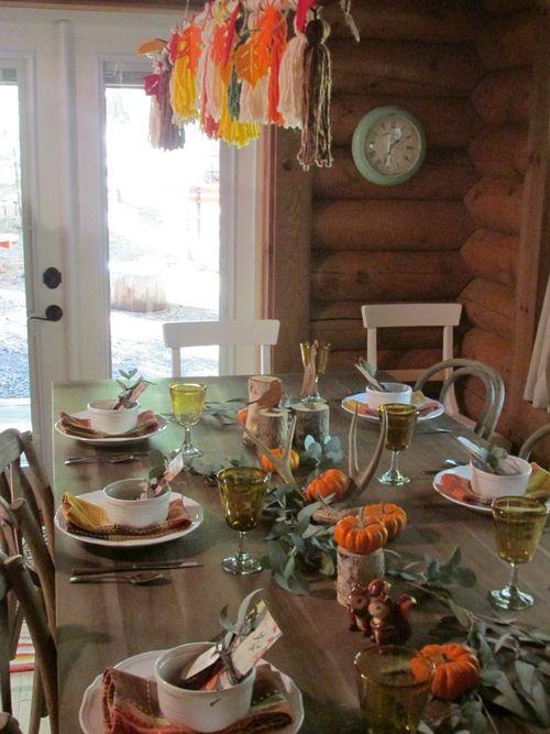 Enchanted fall table tassels 2
