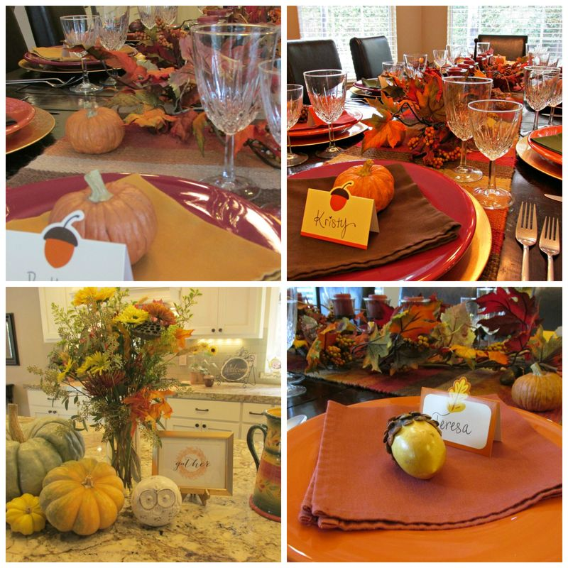 Fall girlfriend lunch Collage