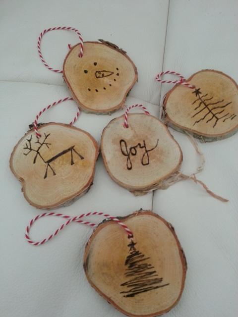 Birch wood christmas 1