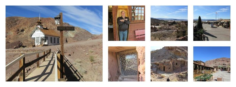 Calico Ghost town Collage