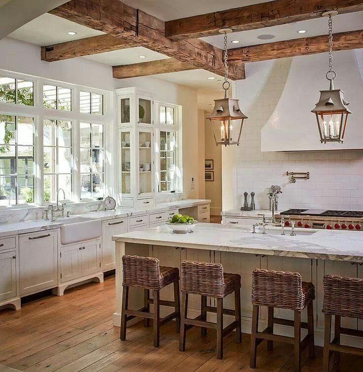 White kitchen one