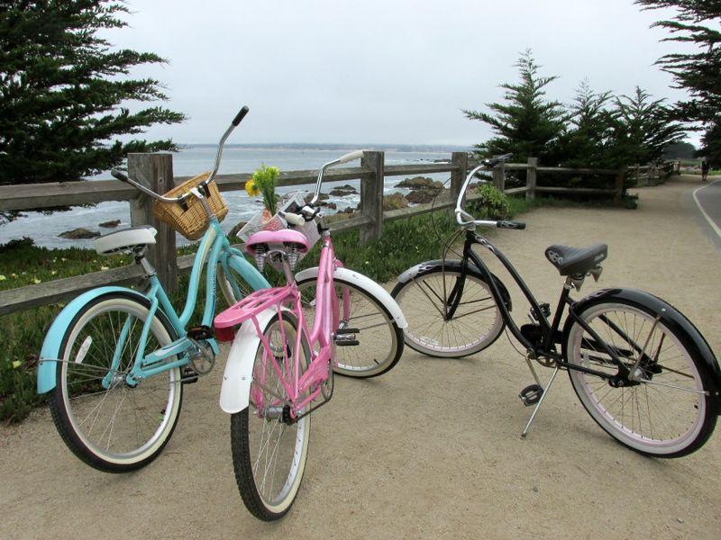Bike adventure pacific coast trial