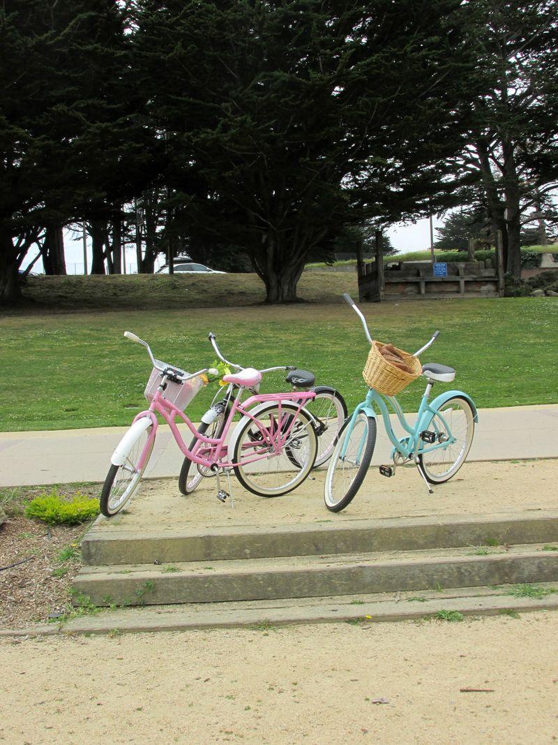 Bike adventure beach