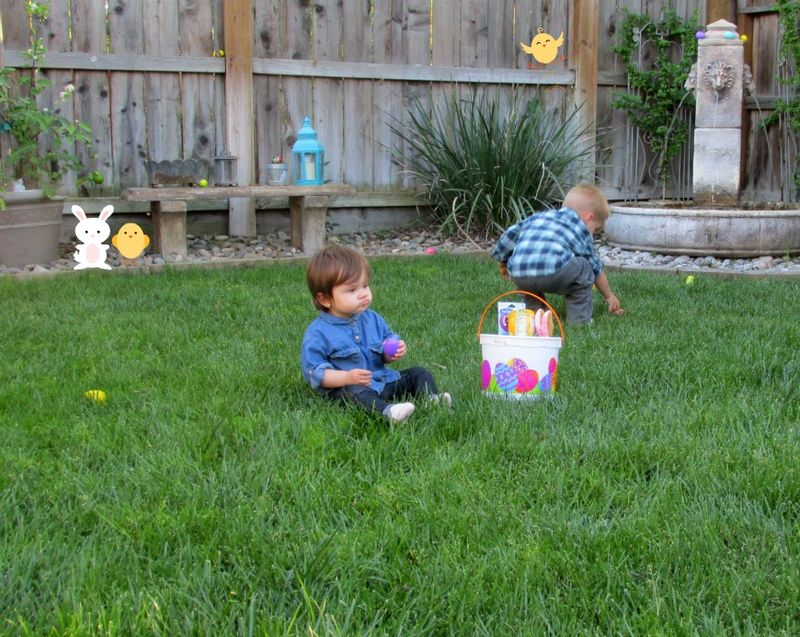 Easter Alene and cole