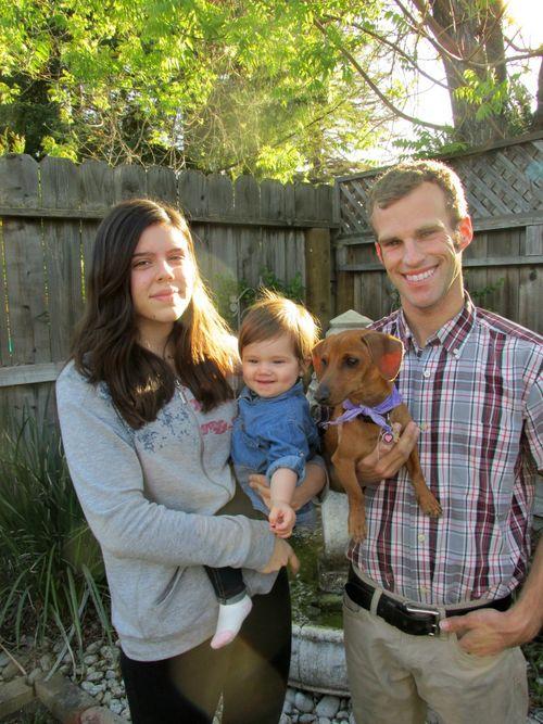 Easter mason's family