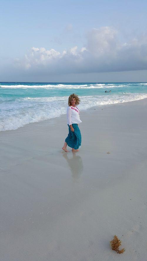 Cancun me on beach 20150507_182005