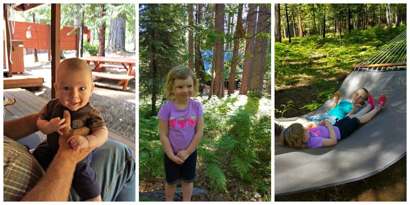 Cabin may 2015 kids Collage