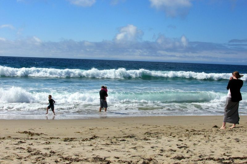 Monterey kents family beach