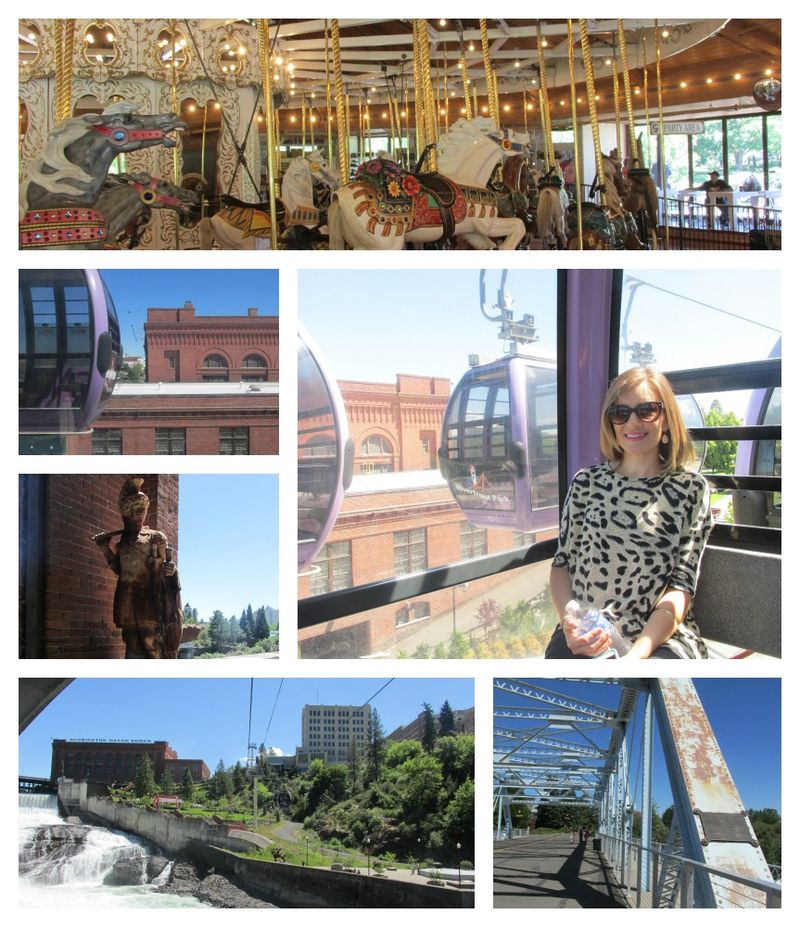 Spokane riverpark  Collage