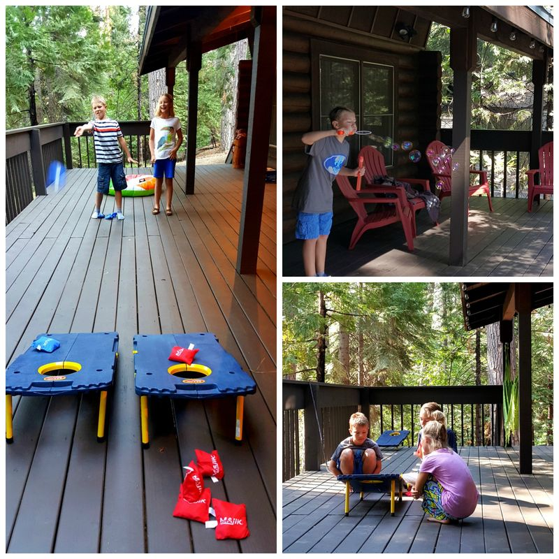Cabin 2015 deck Collage