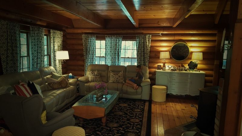 Cabin 2015- living room