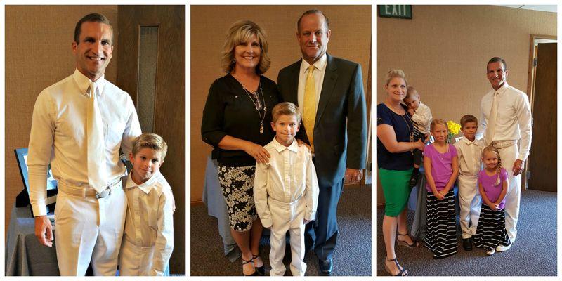 Preston family  Collage