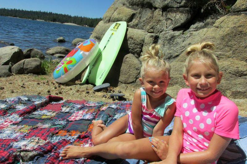 Cabin alpine lake audrey and carlee