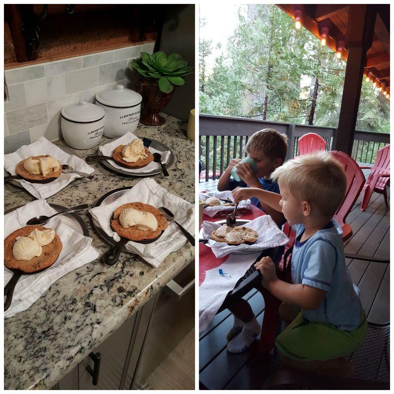 Cabin heidi cookies Collage