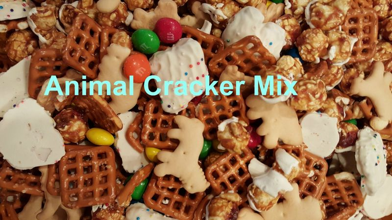 Adventure shower- animal cracker mix 2