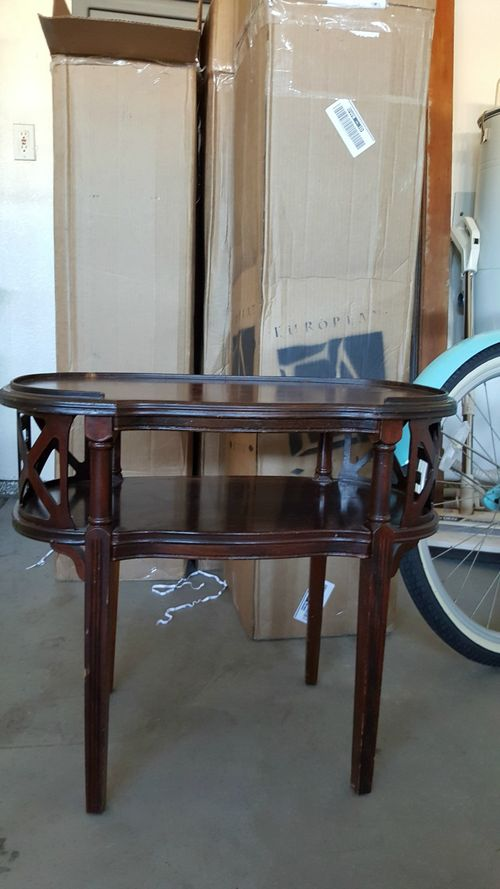 Vintage side table $5