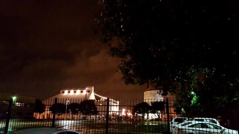 Magnolia- silos at night