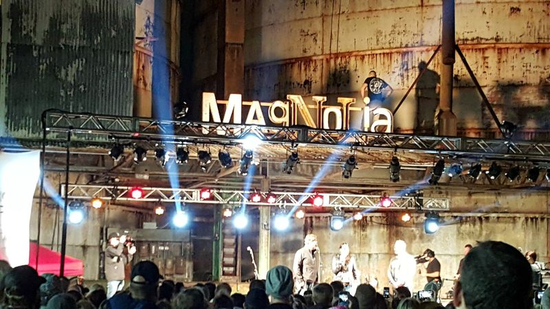 Magnolia- stage sign