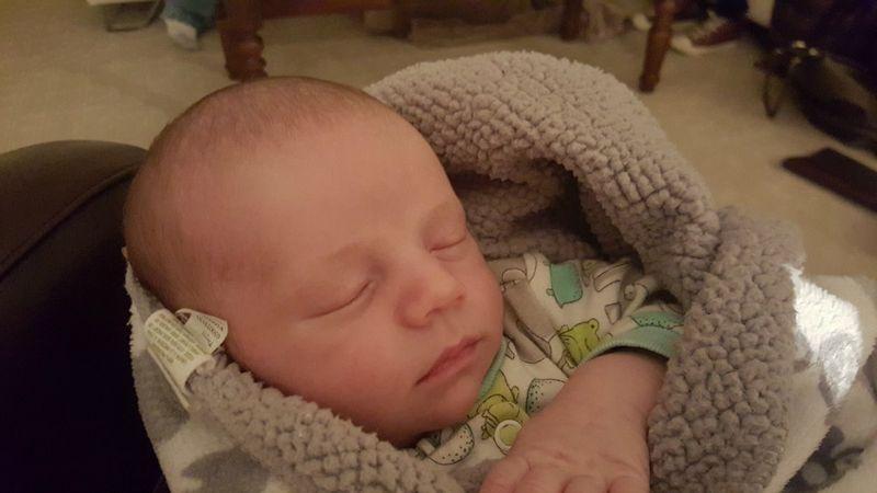 Ayden sleeping Nov 2015
