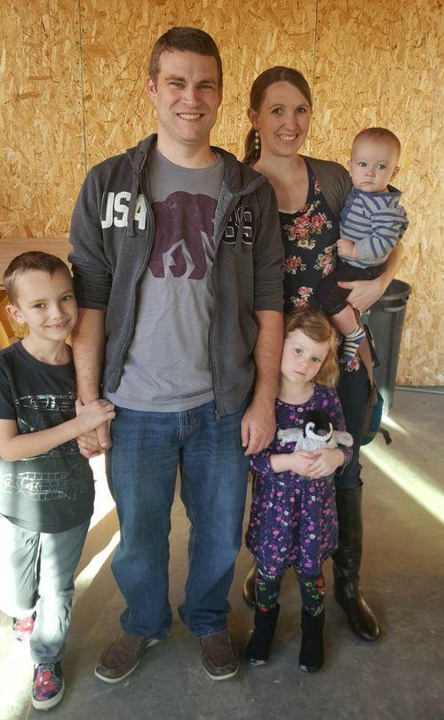 Kent and family poppy hill livingroom