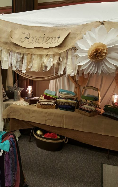 A night in Bethlehem- materials tent