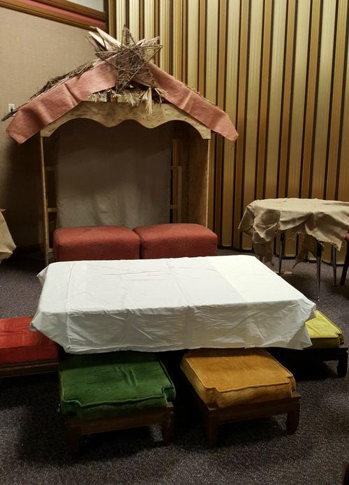 A night in Bethlehem- resting table