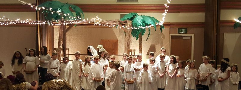 A night in Bethlehem- children