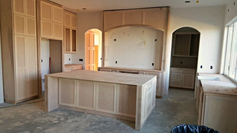 Poppy hill kitchen island cabinets