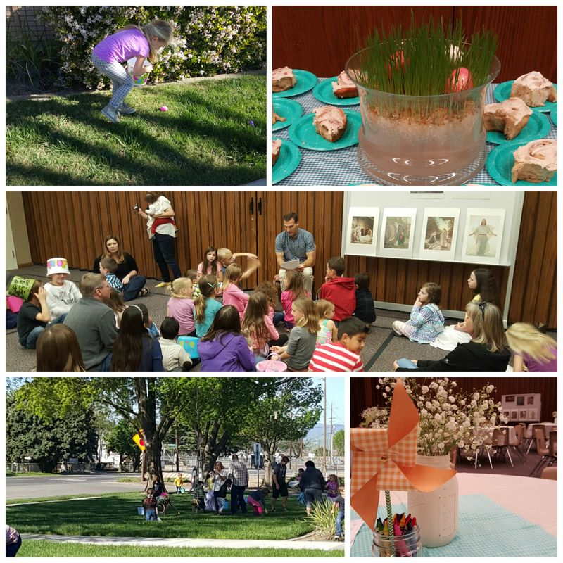 Easter activity Collage