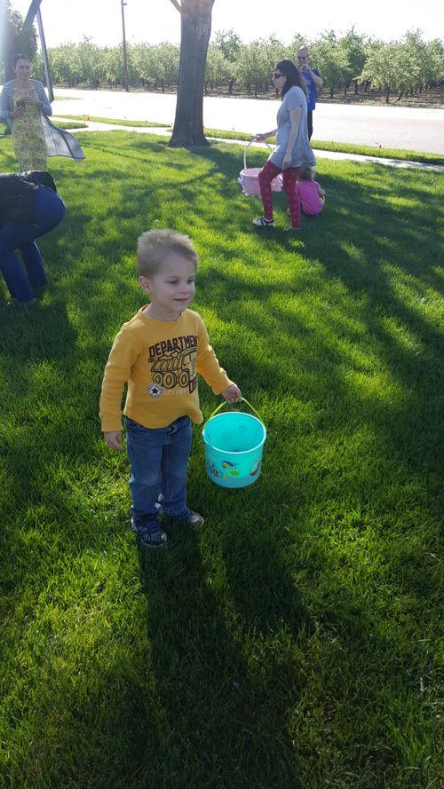 Cole easter egg hunt
