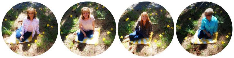 Cabin daffodil day girls 2Collage