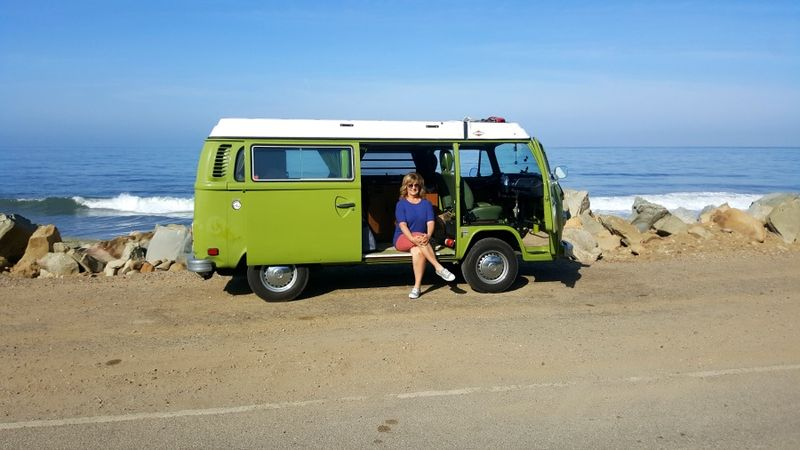 Vw bus me coast
