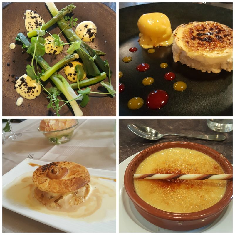 Academy france dessert  Collage