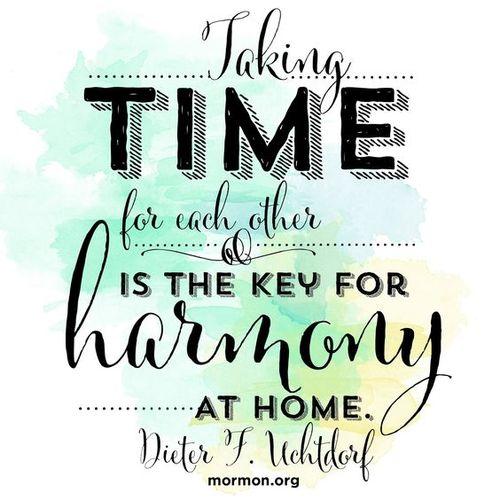 Take time family