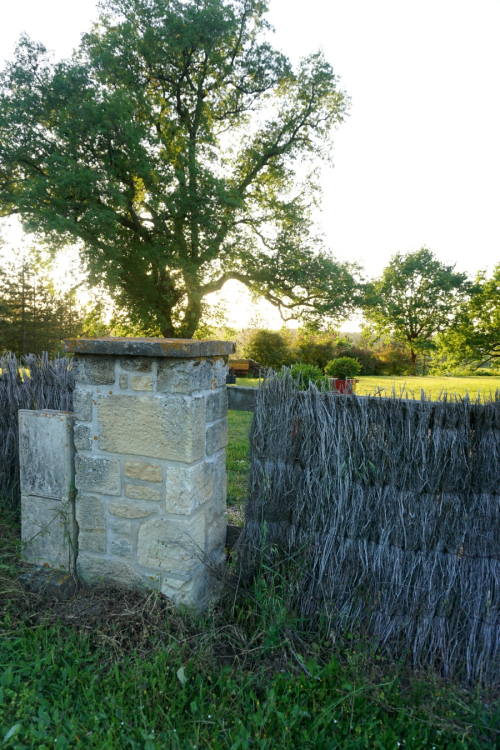 Academy france sunset fence