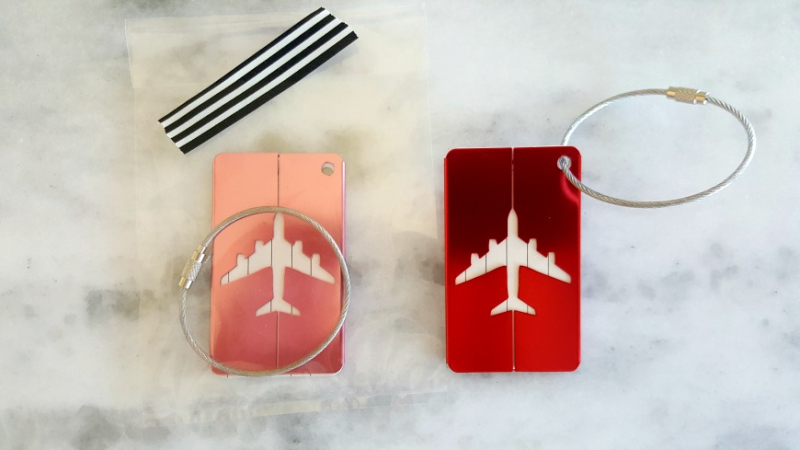 Relief society lesson airplane tags