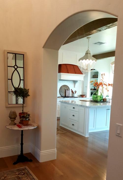Poppy hill kitchen copper hood fall