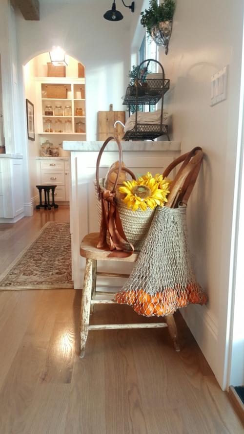 Poppy hill kitchen straw bags