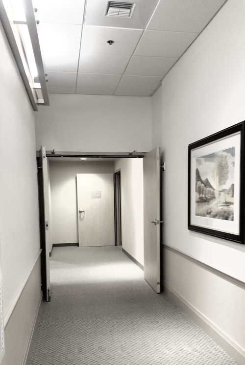 Cancer- radiation hall